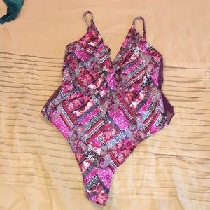 Victoria Secret print bodysuit